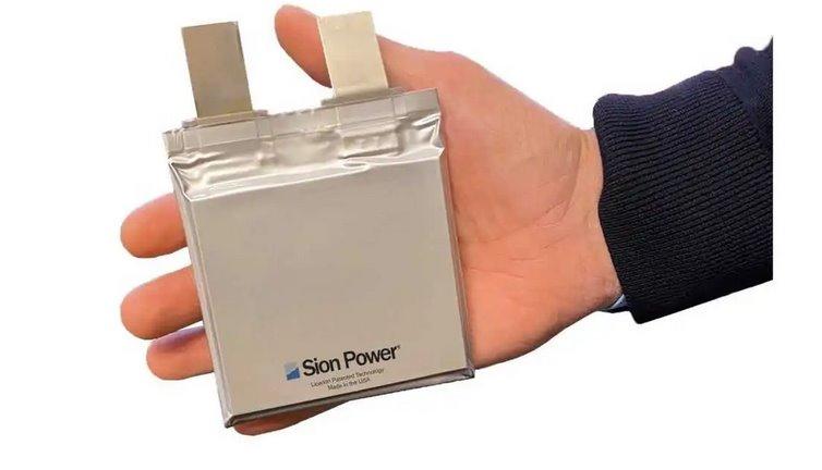 Литий-серные батареи с плотностью энергии 400 Втчкг от Sion Power