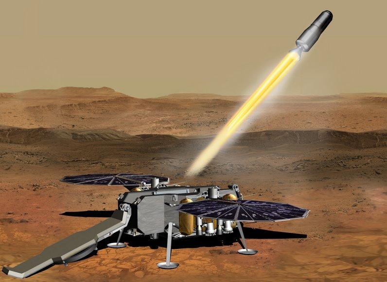 Двигатели корабля для доставки груза с Марса на Землю создаст Northrop Grumman
