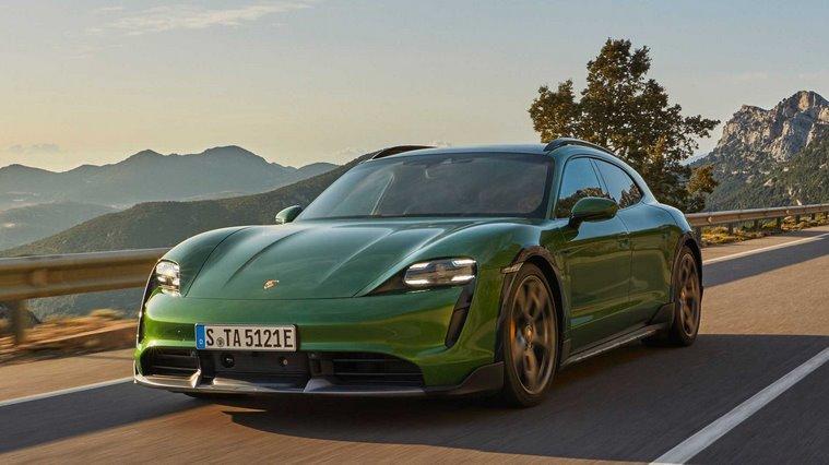 Porsche Taycan Cross Turismo - электрический универсал представлен официально