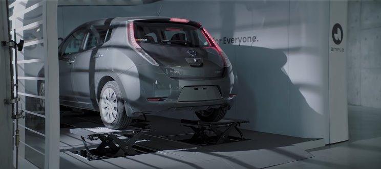 Станция быстрой замены батареи Ample за 10 мин обслужит любой электромобиль (видео)