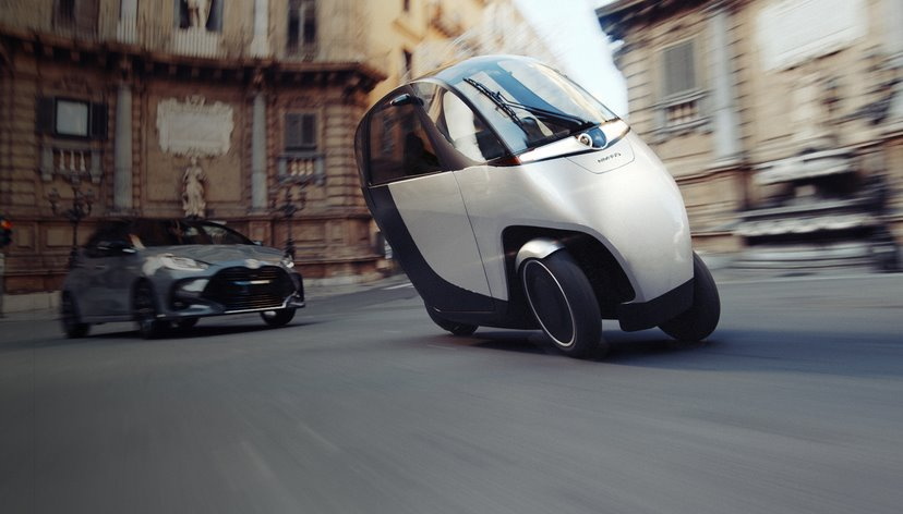 Электрический трицикл Nimbus Halo обойдется в 99 долларов в месяц