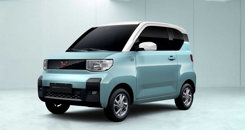 Электромобиль Wuling Hong Guang Mini EV