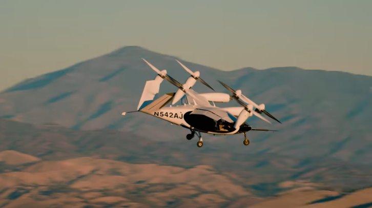 Летающее такси Joby Aviation впервые показали на видео
