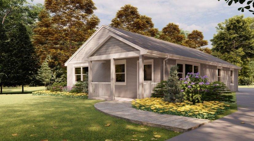 Дом, напечатанный на 3D-принтере, уже можно купить в США