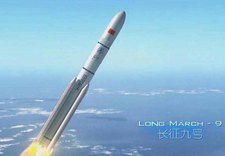 Китай создаст сверхтяжелую ракету Чанчжэн-9 для полетов на Луну и Марс к 2030 году