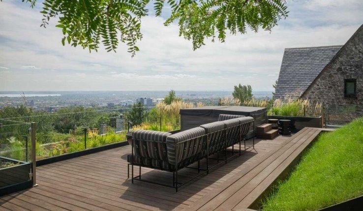 Зеленая крыша Clarke Terrace получила награду Grands Prix du Design