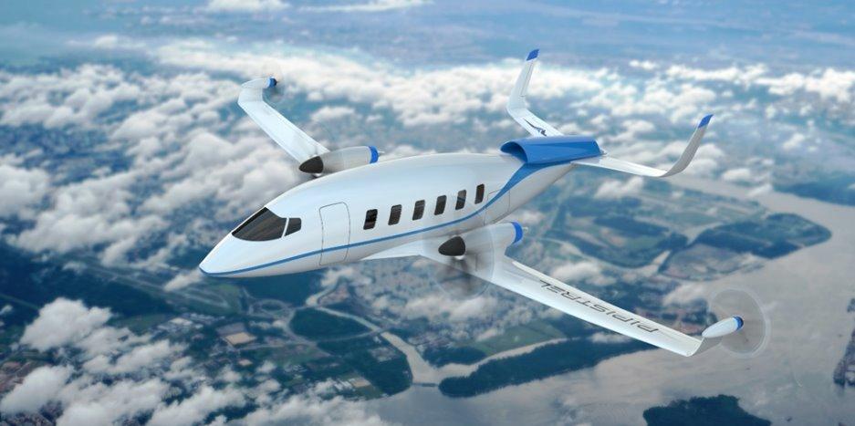 Региональный электрический самолет на водородном топливе Pipistrel Miniliner