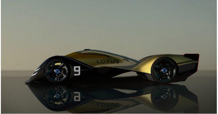 Lotus показал электромобиль для гонок 24 часов Ле-Мана 2030 года