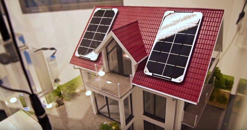 Солнечно-водородная электростанция для дома