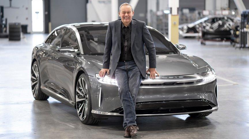 Глава Lucid рассказал о лидерстве в гонке технологий, и почему Tesla не конкурент его электромобилю