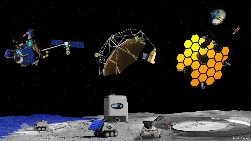 В США запускают программу космического строительства