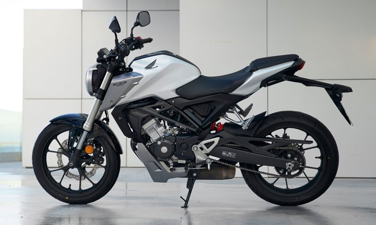 Легкий электромотоцикл Honda описала в новом патенте