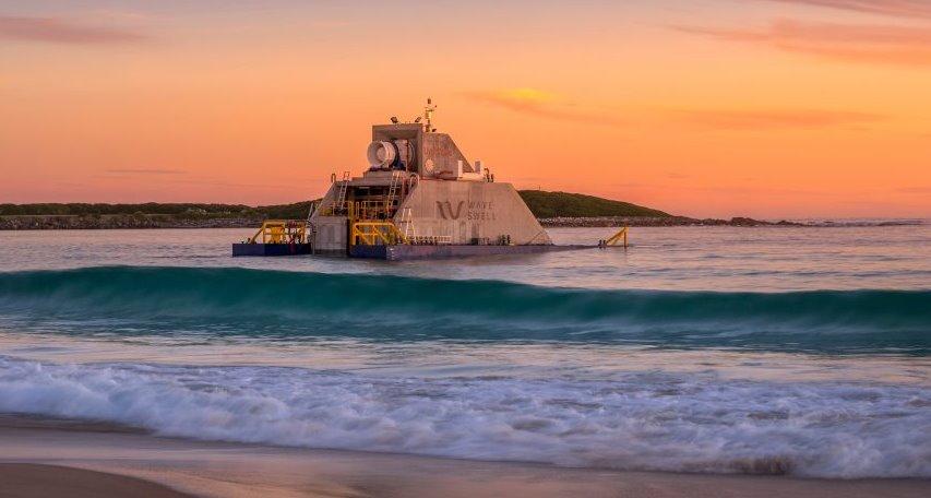 Морской генератор энергии волн