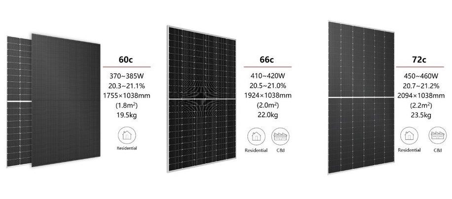 Солнечные панели Longi Hi-MO 4 для домашнего использования