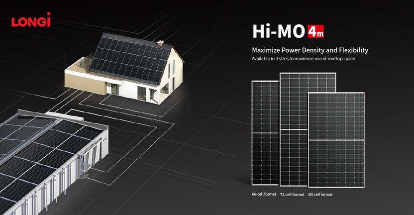 Longi дополнила серию солнечных панелей Hi-MO 4 новой моделью LR4-66HPH (Half-cell, PERC, Mono)