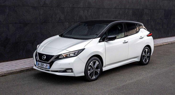 Электромобиль Nissan Leaf10