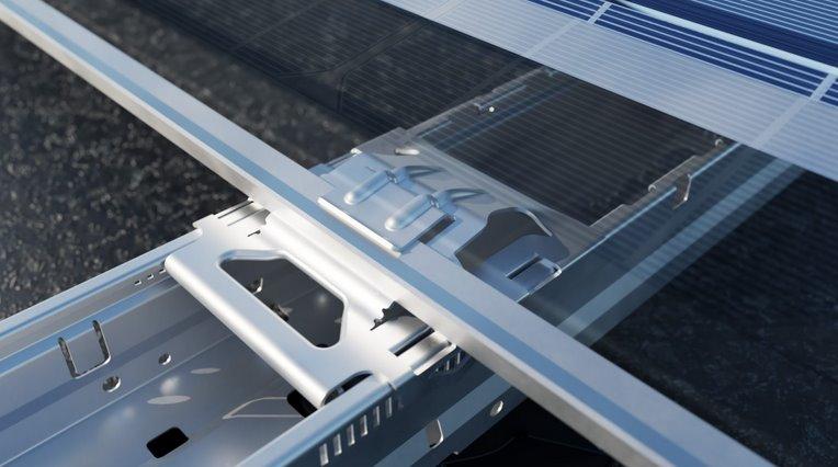 Новый скоростной способ монтажа солнечных панелей без инструментов - Flatfix Wave - одобрен ведущими производителями