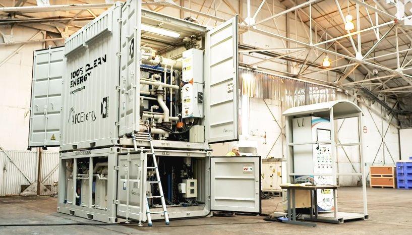 Генератор на водородных топливных элементах