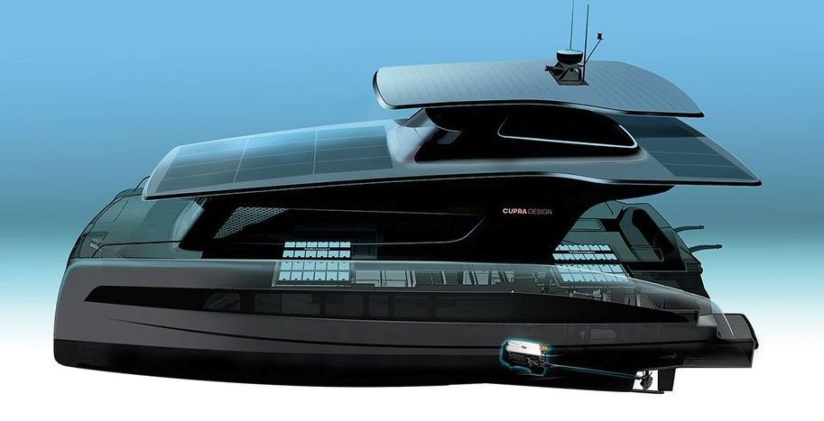 Солнечная яхта Volkswagen