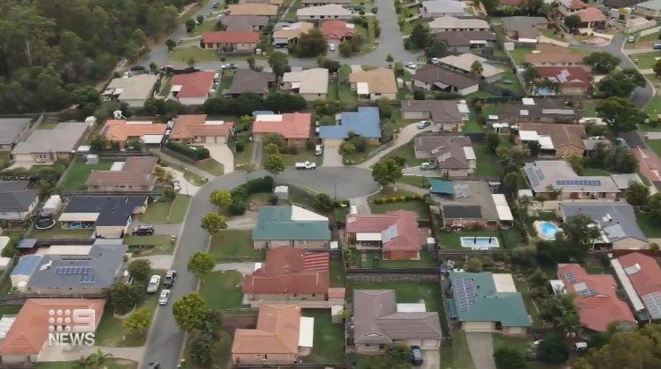 Солнечный микрорайон в Австралии