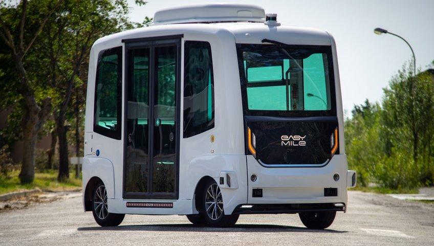 Sono Motors и EasyMile оснастят беспилотный электробус солнечными батареями