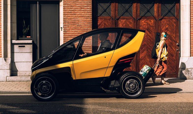 Бюджетный электромобиль для города