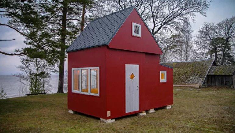 Каркасный мобильный дом
