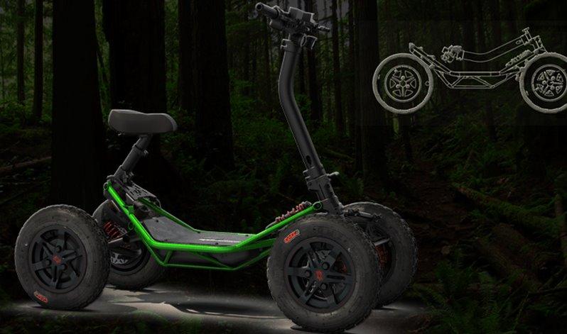 Квадроцикл електричний для бездоріжжя