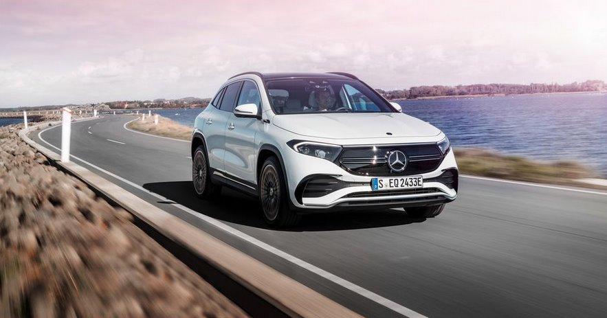 Электрический кроссовер EQA Mercedes-Benz представлен официально