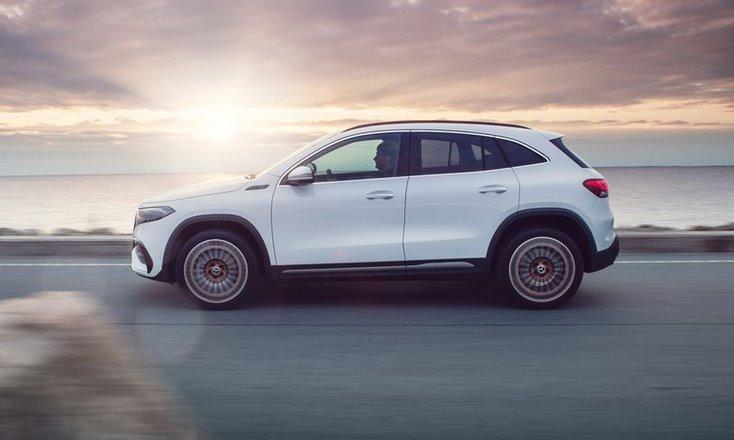 Электромобиль Mercedes-Benz EQA