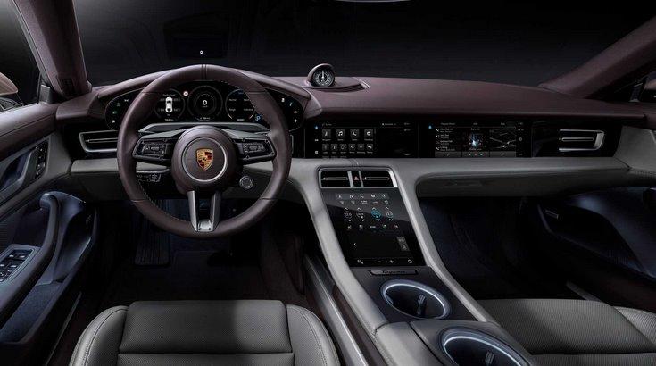 Porsche Taycan интерьер