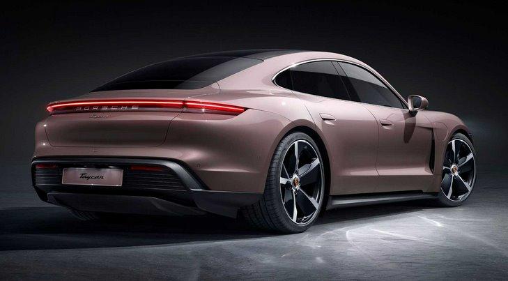 Porsche Taycan самая дешевая версия