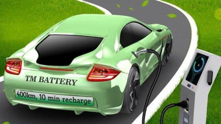 Новая дешевая батарея позволит за 10 минут заряжать электромобили для пробега в 400 км
