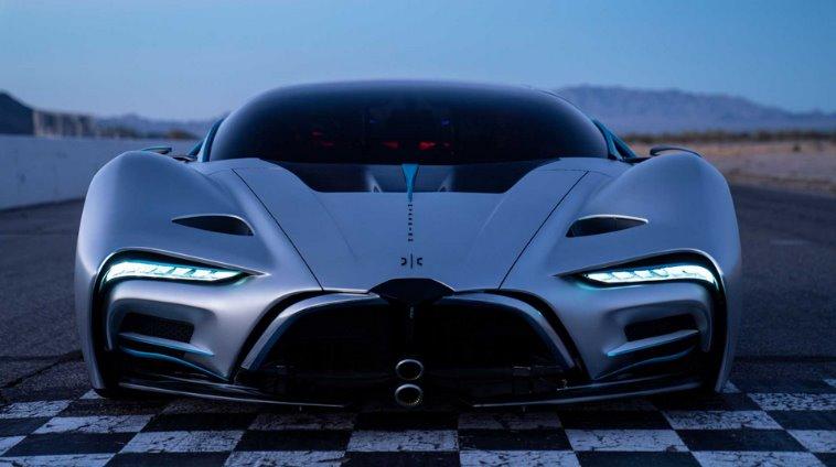 Водородный электромобиль Hyperion