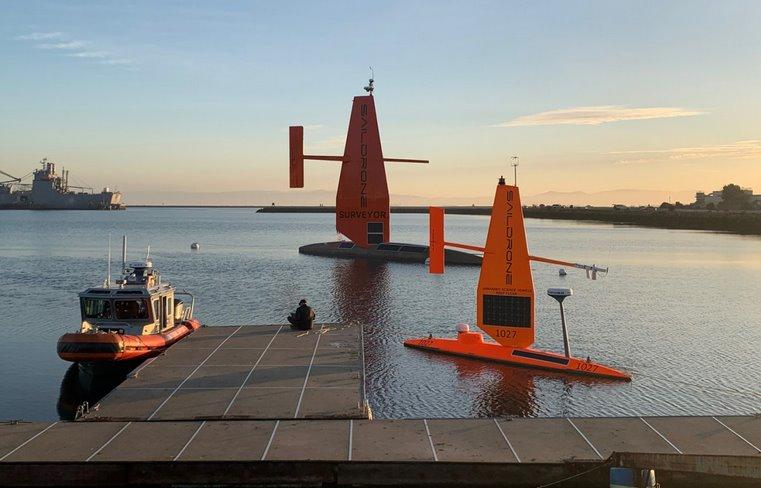 Самоуправляемые корабли для изучения океана