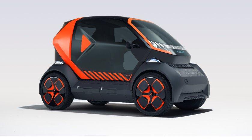 Renault представила новый городской электромобиль EZ-1 и бренд Mobilize