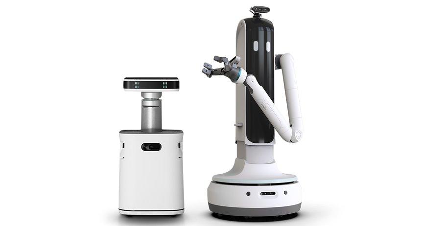 Роботы Samsung уберутся в доме, напомнят о важных делах и присмотрят за домашними питомцами (видео)