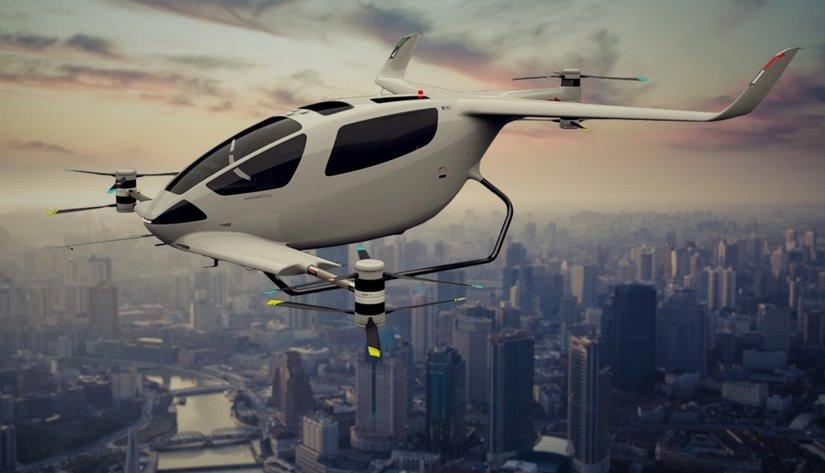 Autonomous Flight представила пассажирский дрон-трикоптер