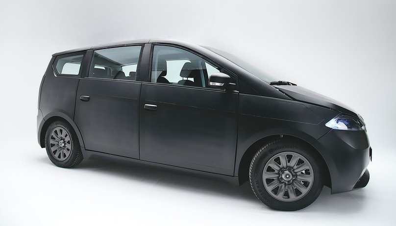Солнечный автомобиль Sion