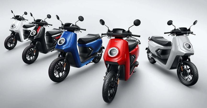 Электрические скутеры Нио