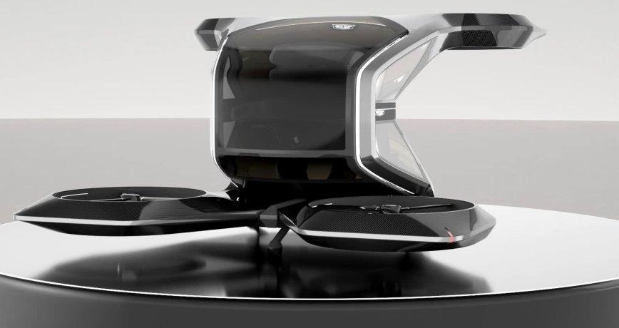 Персональный дрон Cadillac создан для полетов в изолированной роскоши
