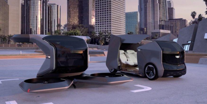 Беспилотный транспорт Cadillac
