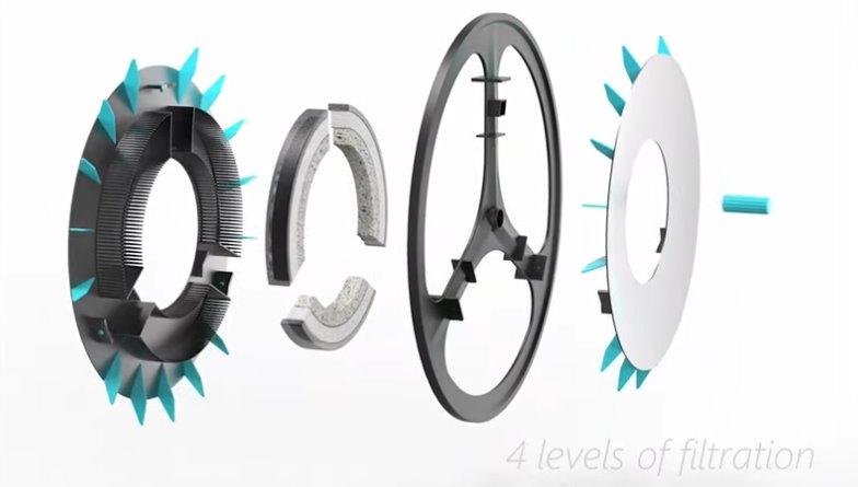 Велосипедное колесо фильтр воздуха