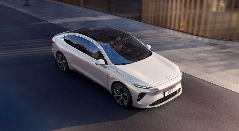 Китайский роскшный электромобиль NIO ET7