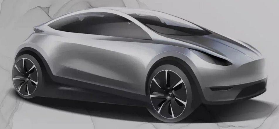 Бюджетный электромобиль Тесла за 25 тыс могут выпустить в Китае в 2022 году