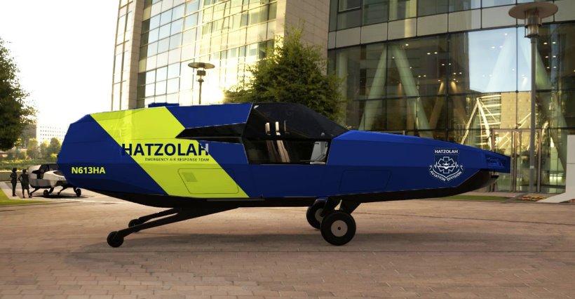 Водородная летающая машина CityHawk