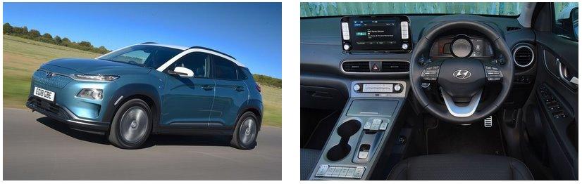 Электромобиль Hyundai Kona Electric - внешний вид и салон