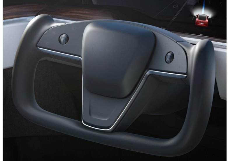 Кермо нової Tesla Model S