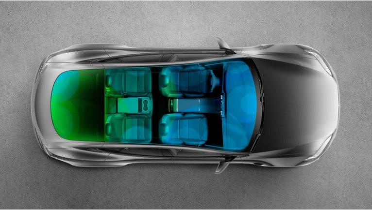 Климатическая система Tesla Model S
