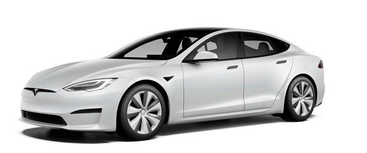 Самая новая Tesla Model S